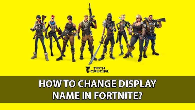 How to change fortnite name