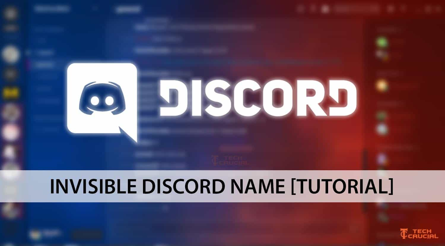 invisible discord name